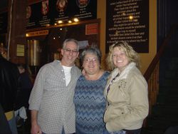 Jim, Karen & Piper, River City Brewery, Anniversary Party, 2011