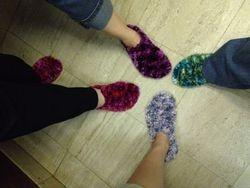 Fuzzy Feet Four