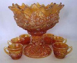 Acorn Burrs 8pc. punch set, marigold