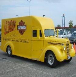 A D Farrow Harley Davidson Custom Truck