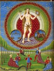 Italian, Venus and Her Children, c. 1450