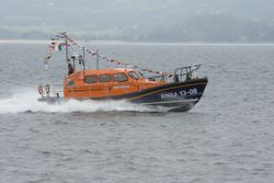 Lough Swilly RNLI officially name new Shannon class lifeboat Derek Bullivant