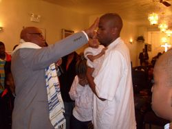 Man of God Anointing the Man of God