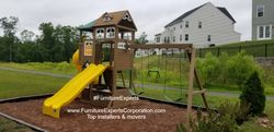 swing set installers in severn MD