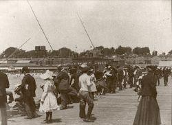 SANTA MONICA PIER, 1910