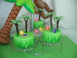 Monkey Jungle Cake