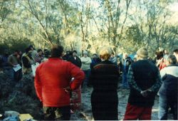 1997 All the keen cold rallyists
