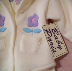 Lemon Fleece 3 piece suite  Size 18 mths