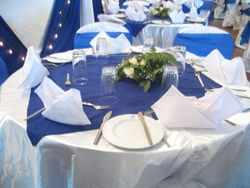 corporate table setting