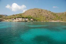 Anchored in Marigot Bay