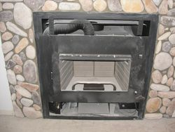 Wall Insert H.E Wood Burning Stove