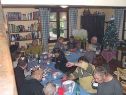 repas partagé avec nos bénévoles