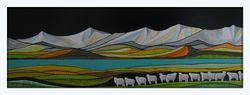 Lakeside Ewes Zealand series #2..SOLD