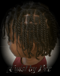 Rope Twist with Natural Hair