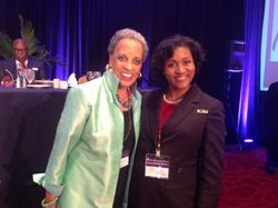 Johnetta Cole & our 2nd Vice President