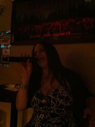 Jacqueline sharing her talent with us at 502's Social Saturday Karaoke!