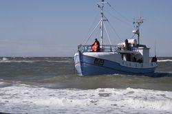 danish fishermans boat
