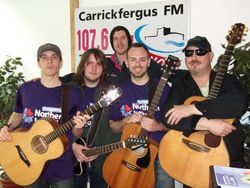Mike and the Hospice Buskers
