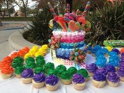 Candyland Inspired Cake