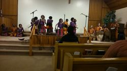 Asante African Children's choir-energetic music