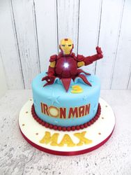 Ironman Birthday Cake