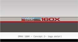 OMAX 160X Logo Concept