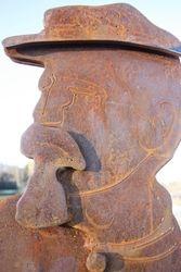 Lanyard soldier closeup