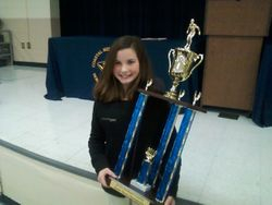Coastal's First Place Trophy