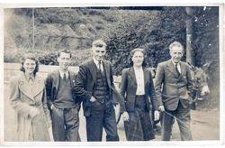 At Lisdoonvarna, Co Clare c 1950's