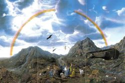 YAHAWAH DESTROYS THE EARTH WITH A FLOOD SAVING NOAH