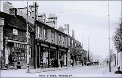 Wordsley, Stourbridge. c 1913.