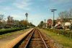 Tracks through Chipley Florida