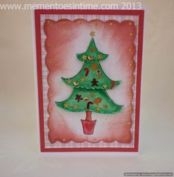 Layered Tree Card