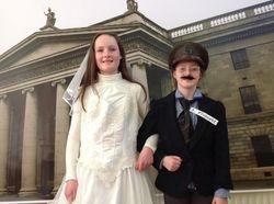 Joseph Plunkett and His new bride, Grace Gifford!