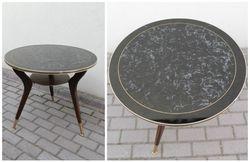 Apvalus vintazinis stalas. Kaina 72 Eur.