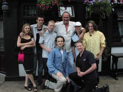 Jake the snake Roberts, Frankie Rimer Jnr, Tony Sefton, Ashley Reed, Robert Amato, Ryan Surridge.