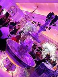 Champagne fountain hire at the savoy hotel London.