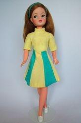 Fun Fashion - Blue and yellow panel skirt