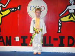06-03-2012  Championships  TJ  Cox   1st  place Forms , 1st place Breaking , 2 nd place Fighting