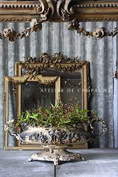 SOLD  #27/207 VIGNETTE  MIRROR LOUIS XVI SOLD