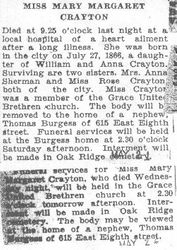 Crayton, Mary 1931