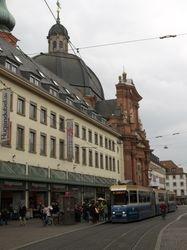 LHB tram #204 on Schonbomstrasse