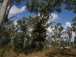 World War 2 radar tower