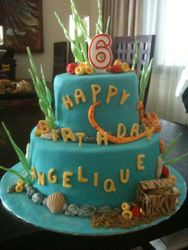 Under the Sea Cake 2