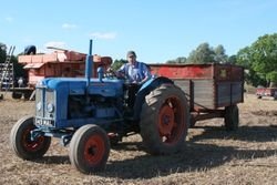 Fordson Super Major & grain trailer