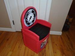 Delta Enterprise Plastic Chair with Storage - $10
