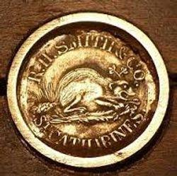 R H Smith medallion