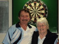 B Grade Mixed Doubles Winners - Doreen Beavan & Mark Reardon