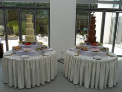 Twin 5 Tier chocolate fountain package