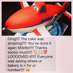 Disney Plane Fire & Rescue Cake